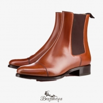 Antonio Booty  Cognac Leather BS35123