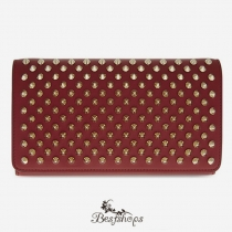 Macaron Wallet Red Flap BSCL90014
