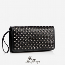 Macaron Continental Wallet Flap Black BSCL90012