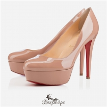 Bianca 120mm Nude Patent Leather BSCL109863