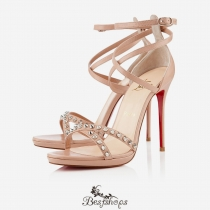 Sandals 120mm Nude BSCL485021