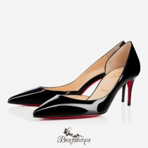 Iriza 70mm Black Patent Leather BSCL900186