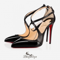 Crissos 100mm Black Patent Leather BSCL900175