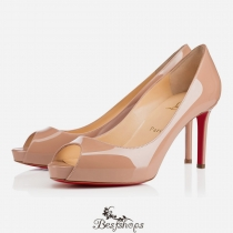 No Matter 100mm Nude Patent Leather BSCL822478