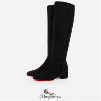 Liliboot 30mm Black Suede BSCL747632