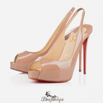 Private Number 120mm Nude Patent Leather5 BSCL088541