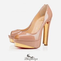 Tuctivista 140mm Nude Patent Leather BSCL810090