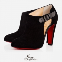 Seferme 100mm Version Black Suede BSCL815632