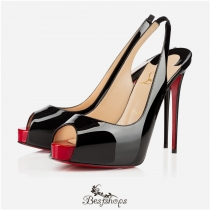 Private Number 120mm Black Red Patent Leather BSCL744632