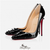 Diamond Spike 120mm Black Patent Leather BSCL116335
