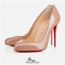 Dorissima 100mm Nude Patent Leather BSCL116415