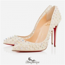 Follies Spikes 100mm White Ivory Aurore BBSCL116351