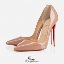 Iriza 120mm Nude Patent Leather BSCL184265
