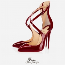 Marlenarock 120mm Carmin Patent Leather BSCL116141