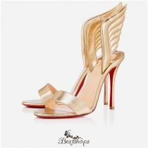 Samotresse 100mm Light Gold Leather BSCL111641