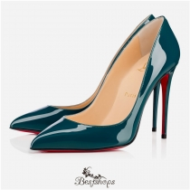 Pigalle Follies 100mm Lagune Patent Leather BSCL845622
