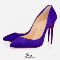 Pigalle Follies 100mm Purple Pop Suede BSCL117999