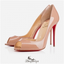 Demi You 100mm Nude Patent Leather BSCL114766