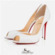 Demi You 100mm White Patent Leather BSCL975810