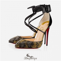 Suzanna Spikes Leo 120mm Version Leopard Leather BSCL919632