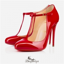 Tpoppins 100mm Red Patent Leather BSCL816952