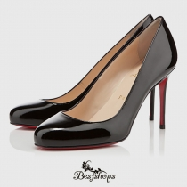 Fifi 85mm Black Patent Leather BSCL9482282