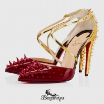 Goldocross 100mm Version Carmin Patent Leather BSCL7492217