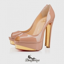 Tuctivista 140mm Nude Patent Leather BSCL8911472