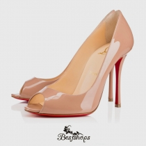 Yootish 100mm Nude Patent Leather BSCL9018451