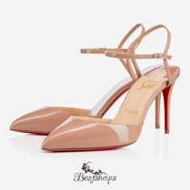 Rivierina 85mm Nude Patent Leather BSCL9331683