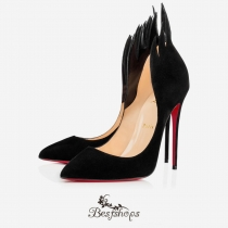 Victorina 120mm Black Suede BSCL6382280