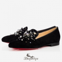 Candy Moc Flat Version Black Suede BSCL899158