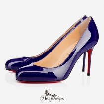 Fifi 85mm Encre Patent Leather BSCL974918