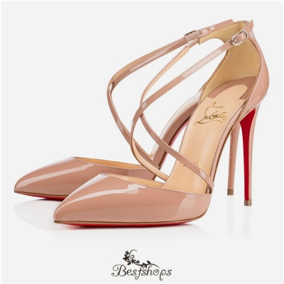 Cross Blake 100mm Nude Patent Leather BSCL104236