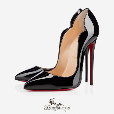 Hot Chick 130mm Black Patent Leather BSCL900180
