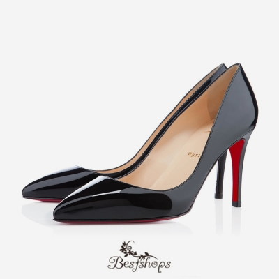 Pigalle 85mm Black Patent Leather BSCL900191