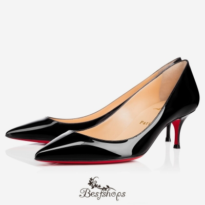 Pigalle Follies 55mm Black Patent Leather BSCL900190