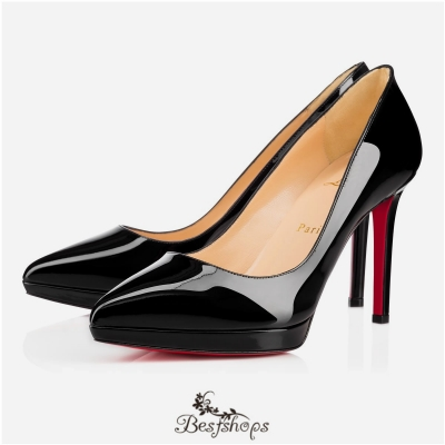 Pigalle Plato 100mm Black Patent Leather BSCL816752