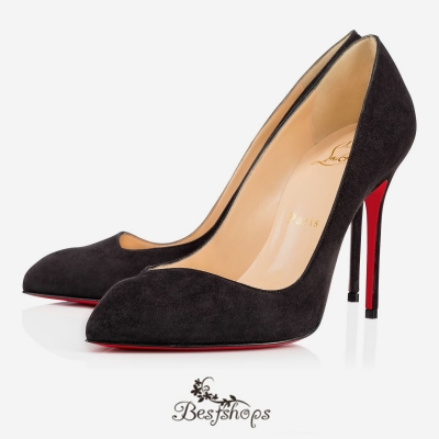 Corneille 100mm Fusain Suede Pumps BSCL1901935