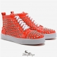 High Top Sneakers Orange BSCL492833