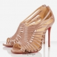 Multibrida 100mm Peep Toe Pumps Nude BSCL8491751