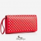 Macaron Continental Wallet With Flap Red BSCL682015