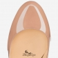 Fififa 100mm Nude Patent Leather BSCL900181