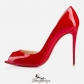 Demi You 100mm Red Patent Leather BSCL759223