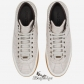 Jimmy Choo Sky Grey Shiny Croc Embossed Leather High Top Trainers BSJC9874108
