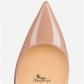 So Kate 120mm Nude Patent Leather BSCL807652