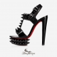 Cybersandale 150mm Black Patent Leather BSCL4992110